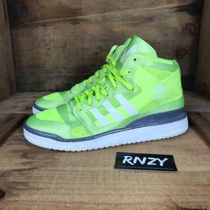 wholesale dealer 91d59 d7466 adidas Shoes - Adidas Forum Mid Crazylight Neon